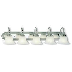 Livex Lighting Brushed Nickel Chrome Vanity