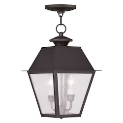 Livex Lighting Bronze Hanging Lantern