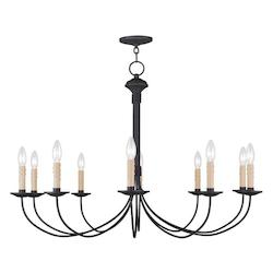 Livex Lighting Black Heritage 25