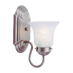 Livex Lighting Brushed Nickel Bathroom Sconce