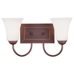 Livex Lighting Vintage Bronze Vanity