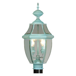 Livex Lighting Verdigris Post Light