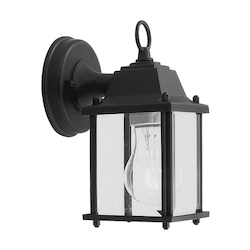 Livex Lighting Two Light Black Wall Lantern
