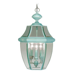 Livex Lighting Verdigris Outdoor Foyer Hall Fixture