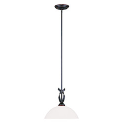 Livex Lighting Olde Bronze Up Pendant