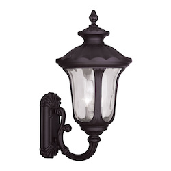 Livex Lighting Three Light Bronze Wall Lantern