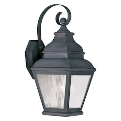 Livex Lighting Charcoal Wall Lantern