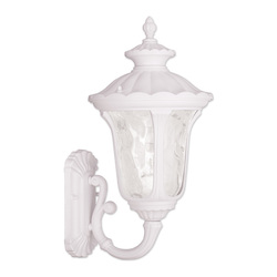 Livex Lighting One Light White Wall Lantern