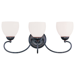 Livex Lighting Olde Bronze Vanity