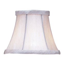 Livex Lighting Champagne Bell Clip Shade  Chandelier Shade With Champagne Bell Clip Shade