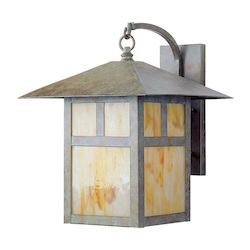 Livex Lighting Verde Patina Wall Lantern