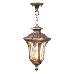 Livex Lighting Moroccan Gold Hanging Lantern