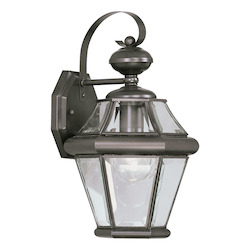 Livex Lighting Bronze Wall Lantern