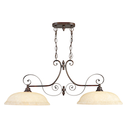 Livex Lighting Imperial Bronze Island Light