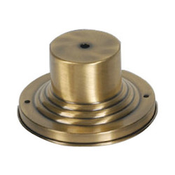 Livex Lighting Antique Brass Pier Mount From Pier Mount Series - 6