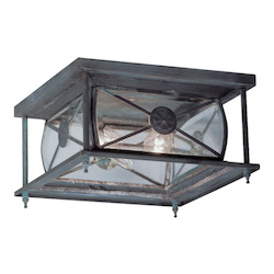 Livex Lighting Charcoal Outdoor Flush Mount