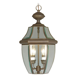 Livex Lighting Imperial Bronze Outdoor Foyer Hall Fixture