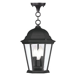 Livex Lighting Black Hanging Lantern