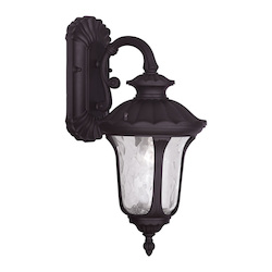 Livex Lighting One Light Bronze Wall Lantern