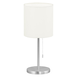 Eglo Aluminum Sendo Single-Bulb Table Lamp