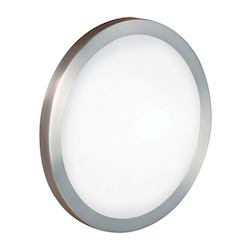 Eglo Matte Nickel Arezzo Single-Light Wall Sconce