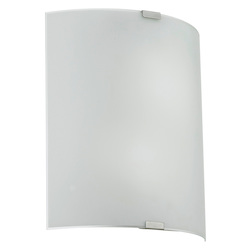 Eglo Chrome 2 Light Flush Mount Ceiling Fixture from the Grafik Collection