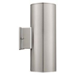 Eglo Stainless Steel Ascoli 2x75W Wall Light in Stainless Steel Finish