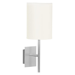 Eglo Aluminum Sendo Single-Bulb Wall Sconce