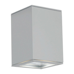 Eglo One Light Silver Wall Light