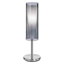 Wegotlites is your one stop shop for high quality table lamps eglo matte nickel 1 light table lamp from the pinto nero collection aloadofball Images