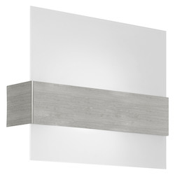 Eglo Matte Nickel Nikita Single-Bulb Wall Sconce