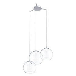 Eglo Satin Nickel Bolsano 3 Light Multi Light Pendant
