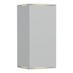 Eglo Silver Tabo 1 2x50W Wall Light in Silver Finish