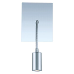 Eglo Chrome Lire 1 Light Wall Sconce