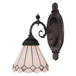 ELK Lighting One Light Tiffany Bronze Wall Light