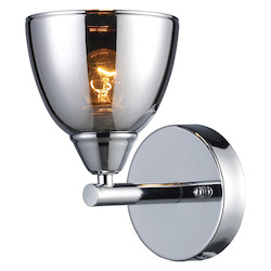 ELK Lighting One Light Polished Chrome Bathroom Sconce