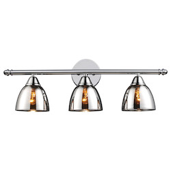 ELK Lighting Three Light Polished Chrome Vanity