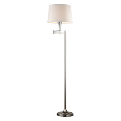 ELK Lighting Dimond Swingarm Polished Chrome Floor Lamp