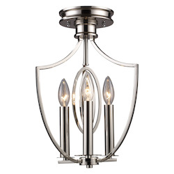 ELK Lighting Semi Flush Mount Ceiling Lighting Fixture