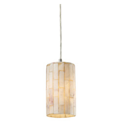 ELK Lighting One Light Satin Nickel Multi Light Pendant