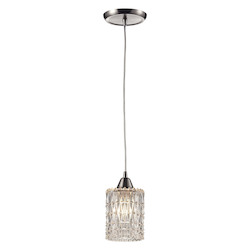 ELK Lighting Kersey 1 Light Mini Pendant