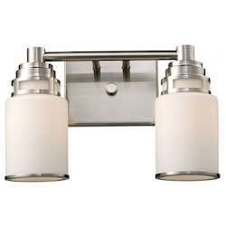 ELK Lighting Two Light Satin Nickel Vanity