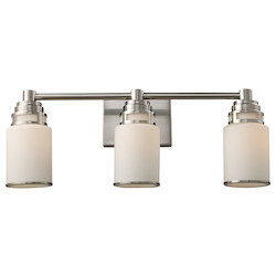 ELK Lighting Three Light Satin Nickel Vanity