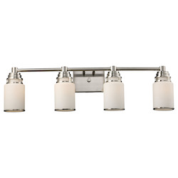 ELK Lighting Four Light Satin Nickel Vanity