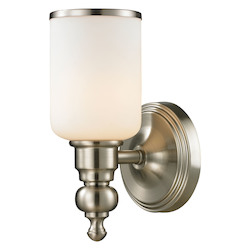 ELK Lighting Ristol - One Light Bath Bar Brushed Nickel Finish