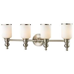 ELK Lighting Bristol - 29in. Led Bath Bar Brushed Nickel Finish