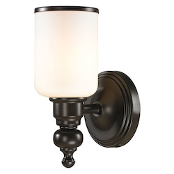 ELK Lighting Bristol - One Light Bath Bar Oil Rubbed Bronze Finish