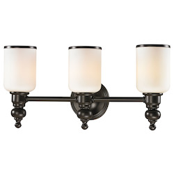 ELK Lighting Bristol - Three Light Bath Bar Oil Rubbed Bronze Finish