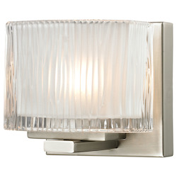 ELK Lighting One Light Bath Bar Brushed Nickel