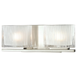 ELK Lighting Two Light Bath Bar Brushed Nickel
